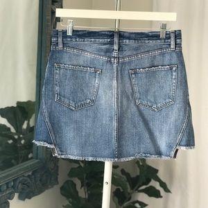 Frame Denin Mini Skirt